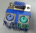 VGA to MINI DIN Double layer